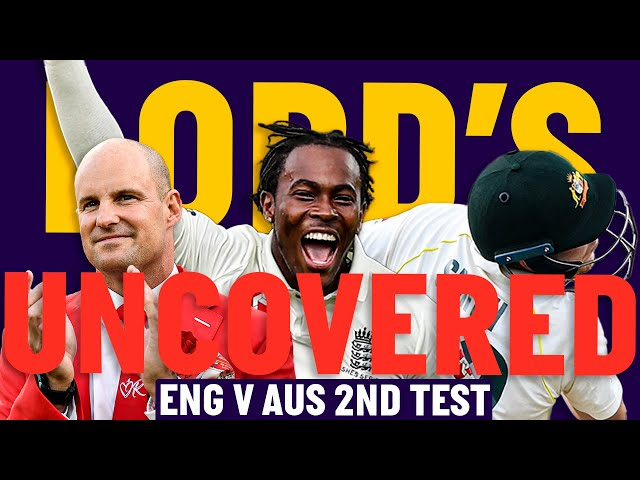 England v Australia | Lord's Uncovered