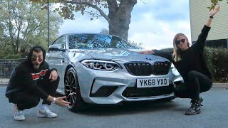 EMMA GOT A BMW M2 COMPETITION!