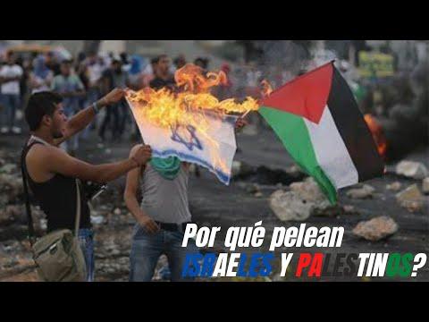 Conflicto ISRAEL PALESTINA: árabes E Isralíes ¿por Qué Pelean?