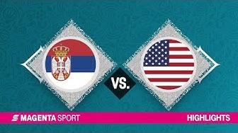 Serbien - USA | Platzierungsrunde, FIBA-WM | MAGENTA SPORT