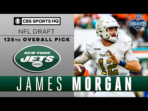 Jets Draft A BIG ARM In The 4th In FIU QB James Morgan | 2020 NFL Draft