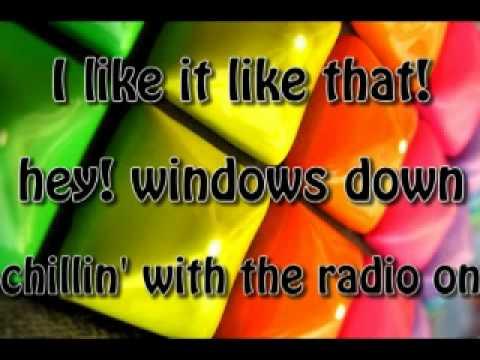 I Like It Like That lyrics WITHOUT RAP- Hot Chelle Rae