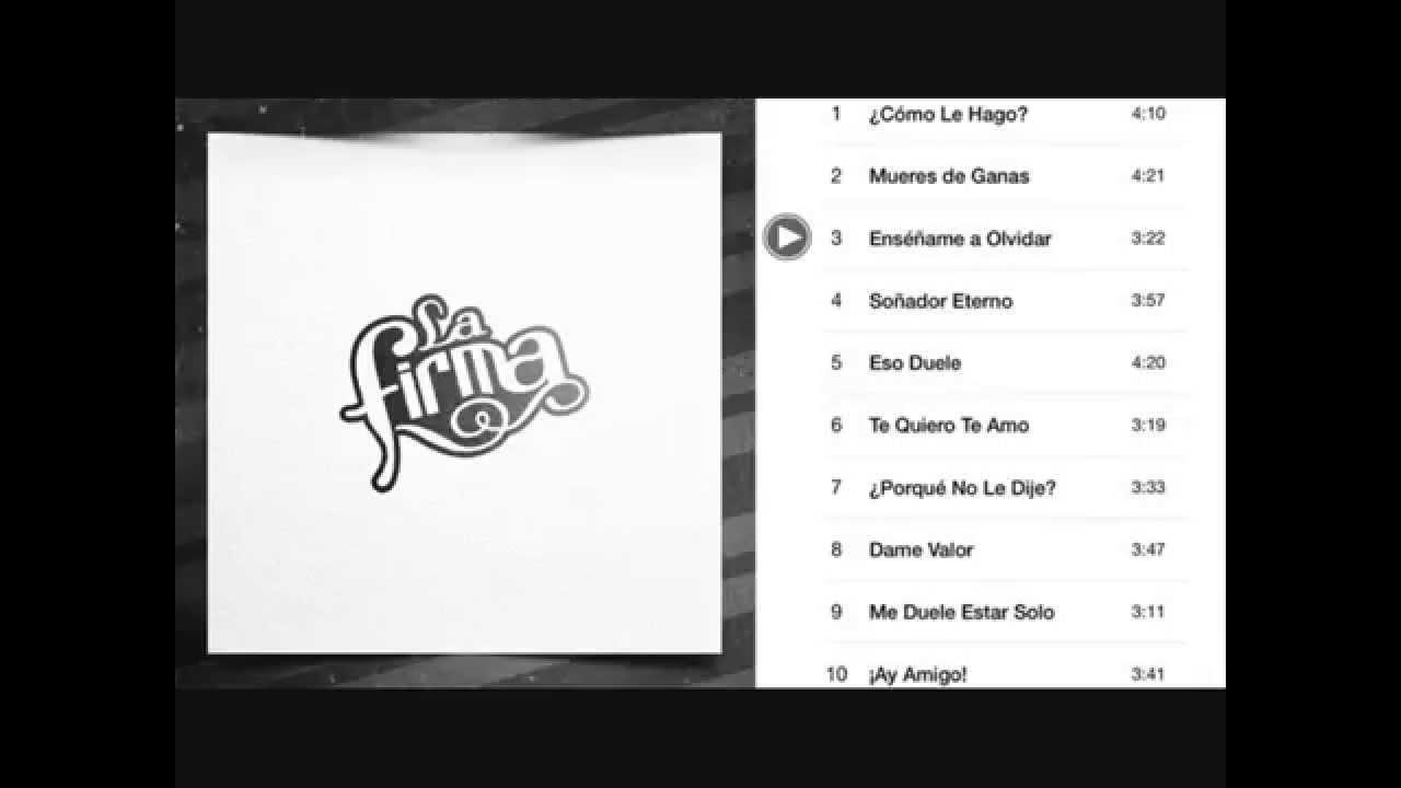 La Firma Blanco 2014 Track Preview Youtube