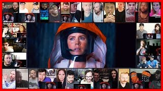 ARRIVAL Trailer Reactions Mashup