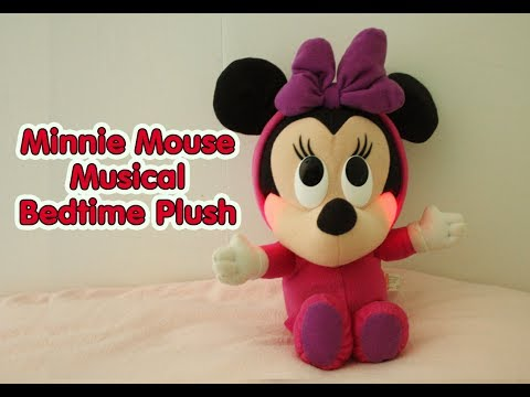 Fisher Price Baby Minnie Mouse Musical Bedtime Plush Toy - Mickey Mouse