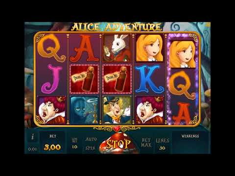 Slot Online Alice Adventure - Casinoslotgratis.it