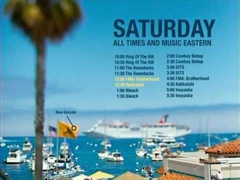 Adult Swim Saturday Night Lineup 75
