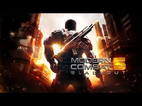 Modern Combat 5: Blackout Android GamePlay Part 1 Walkthrough (HD)