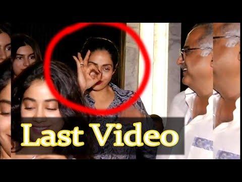 Shree Devi Drunk Before Attack In dubai