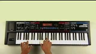 Roland Juno-Di Sound Examples - Preset 009 Fairy Piano