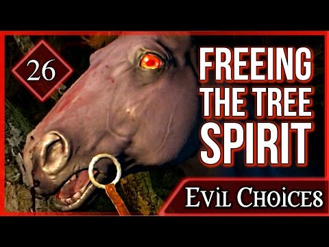 Witcher 3 ► Freeing the Tree Spirit on the Whispering Hillock - Ghost in the Tree #26