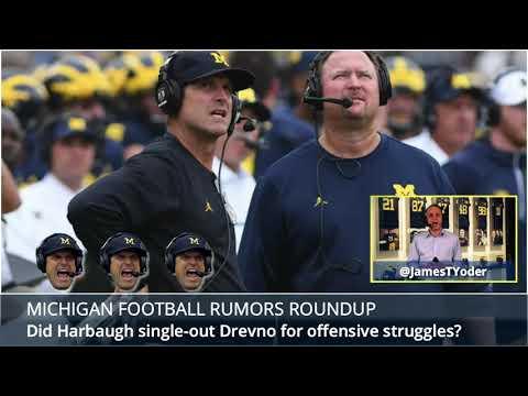 Shea Patterson, Jim McElwain, Jim Harbaugh and Tim Drevno Lead This Michigan Football Rumors Roundup