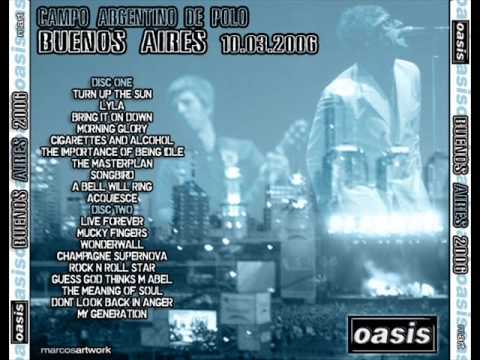 Oasis Download Buenos Aires 2006 MP3