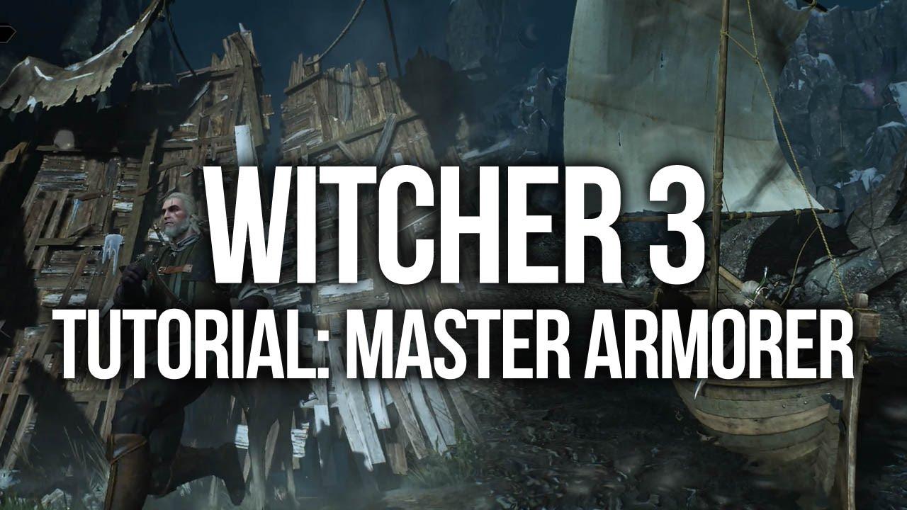 Witcher 3 Tutorial - Master Armorer Quest | FunnyDog TV