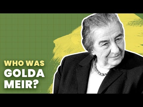 Golda Meir: Iron Lady of the Middle East | History of Israel Explained | Unpacked