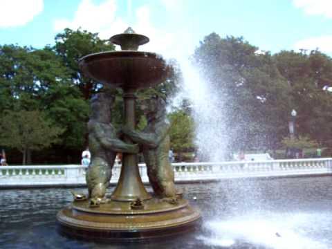 Rackham Fountain At The Detroit Zoo Youtube