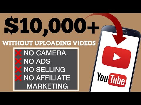 Make $10,000+ Using YouTube WITHOUT UPLOADING Videos! (NO AFFILIATE MARKETING) Make Money Online