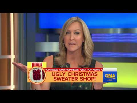 Texas Man's Ugly Christmas Sweater Business Is Booming Video   ABC News