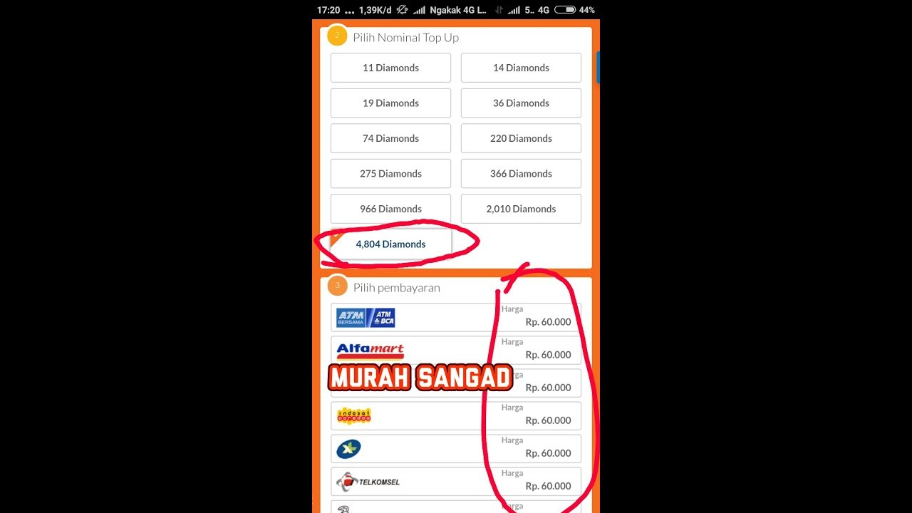 Cara Mengubah Harga Diamond Di Codashop Top Up Murah Mobile
