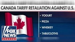 Trump's new tariffs spark retaliation from US trade allies