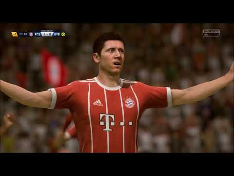 [FIFA 18] Bayern crushes Dortmund 3 times in 1 week.