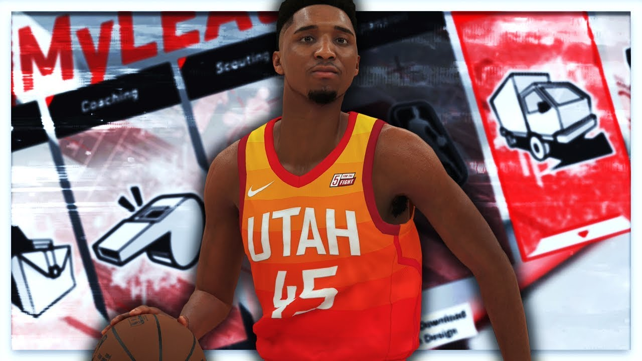 aadaf2811 NBA 2K18 Utah Jazz City Jersey Tutorial - YouTube