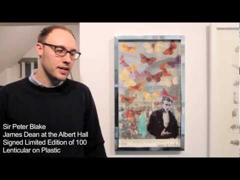 Presenting Sir Peter Blake, Charming Baker & Stanley Donwood works at artrepublic Soho