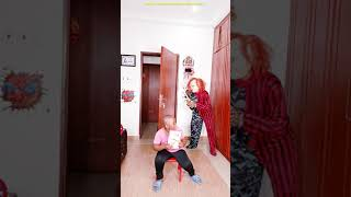 CHUCKY Nerf War ?? Funny prank try not to laugh #shorts Scary GHOST PRANK funny video TikTok comedy
