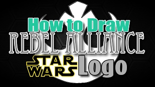 🎨 How to Draw the Rebel Alliance Logo from Star Wars