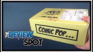 Subscription Spot | Comic Pop Box Subscription Box UNBOXING!