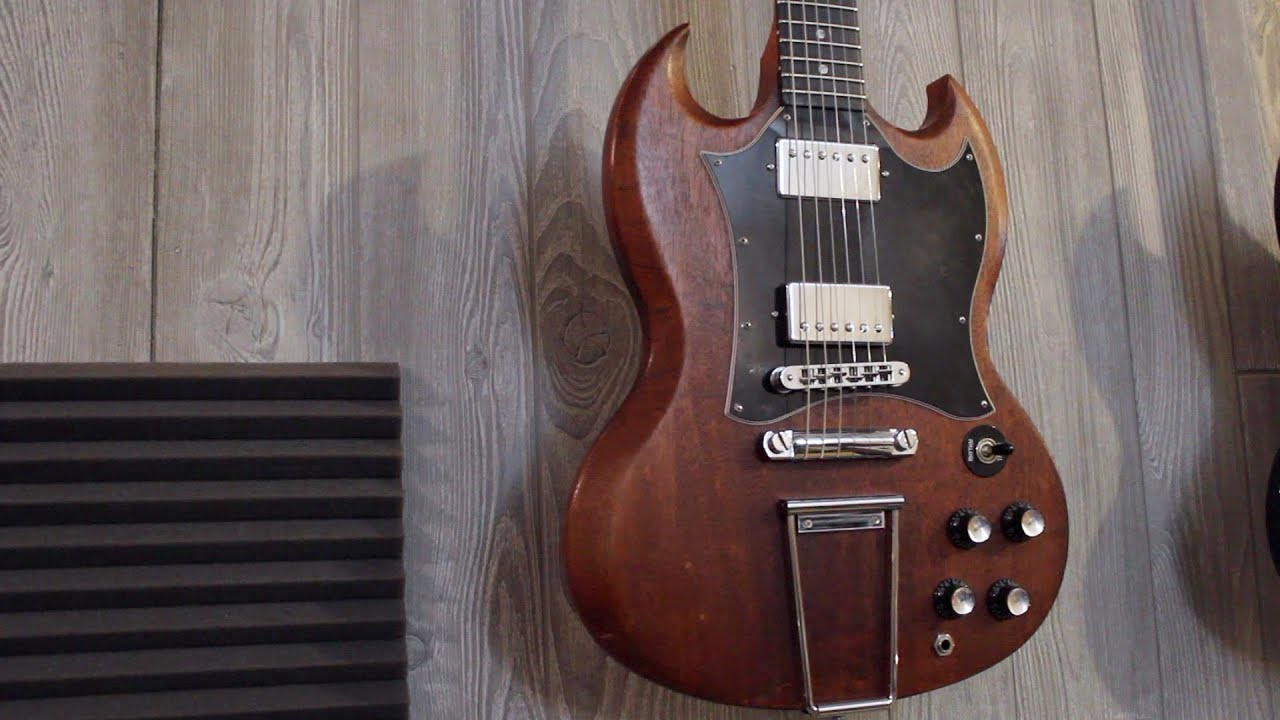 hight resolution of gibson sg faded mods