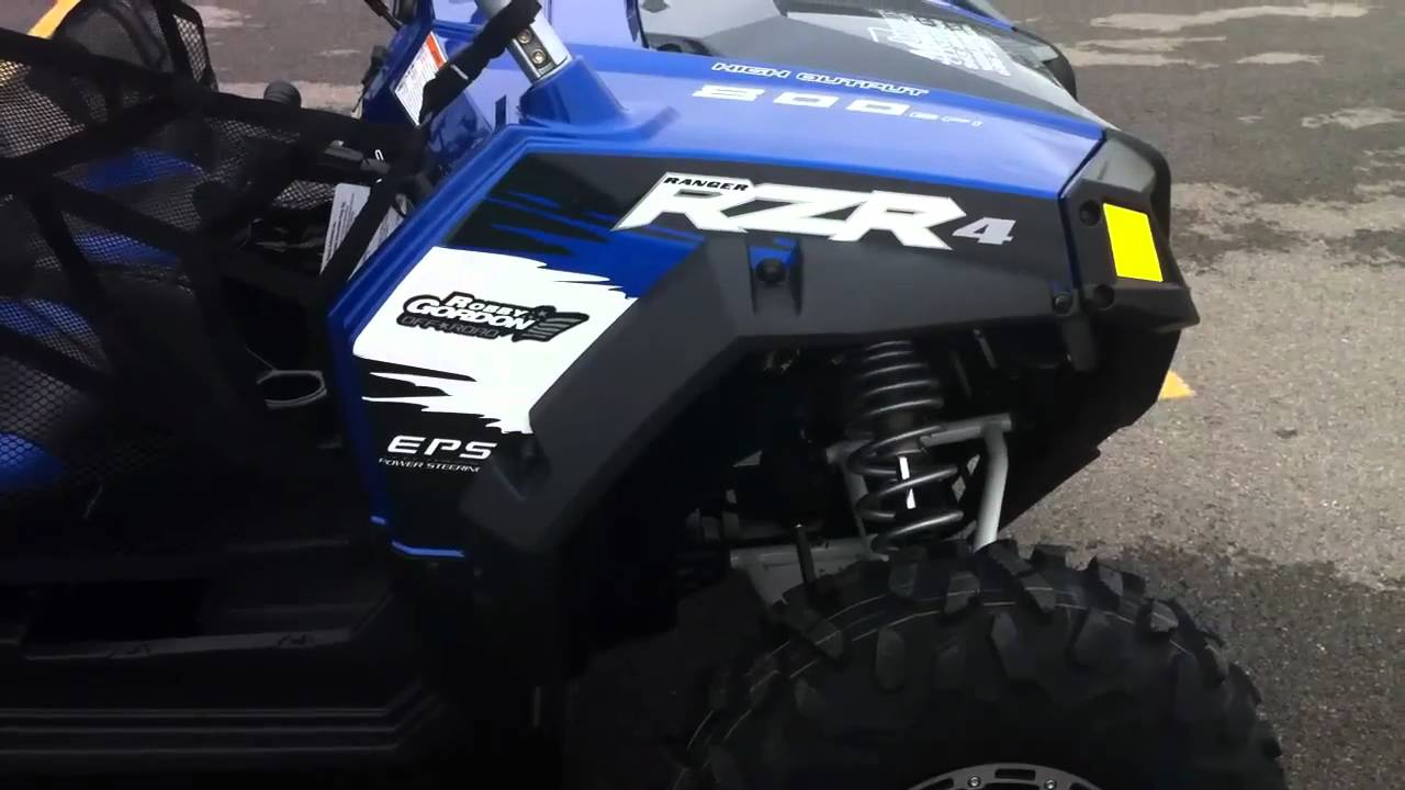 hight resolution of 2011 polaris rzr 4 800 eps robby gordon edition