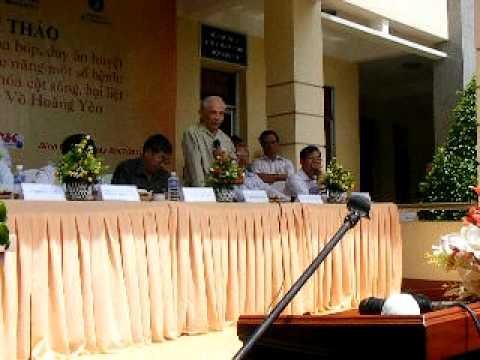 Phát biểu của Giáo Sư Hoàng Bảo Châu tại hội thảo