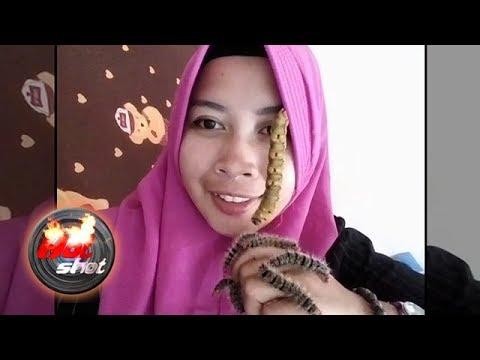 Eli Yulianti, Gadis Asal Kediri Hobi Bermain dengan Ulat Bulu - Hot Shot 06 April 2018