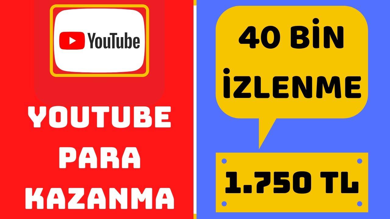 YOUTUBE'DAN NASIL ÇOK PARA KAZANIRIZ ? /YOUTUBE BGBM /  ( Youtube Para Kazanma )
