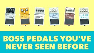 Boss Pedals You've Never Seen Before