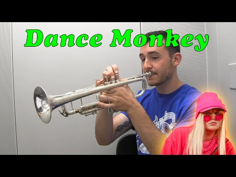 Dance Monkey played on the Trumpet (Tones and I)