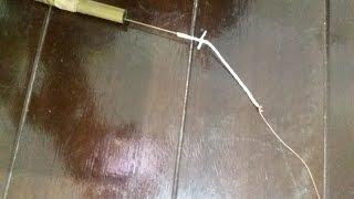 Dicas de pesca - Ponteira para vara telescópica