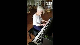 Sweet Georgia Brown (Ben Bernie) Piano Cover by Elsie Ferguson