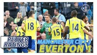 Manchester City 1-1 Everton | EFC Player Ratings