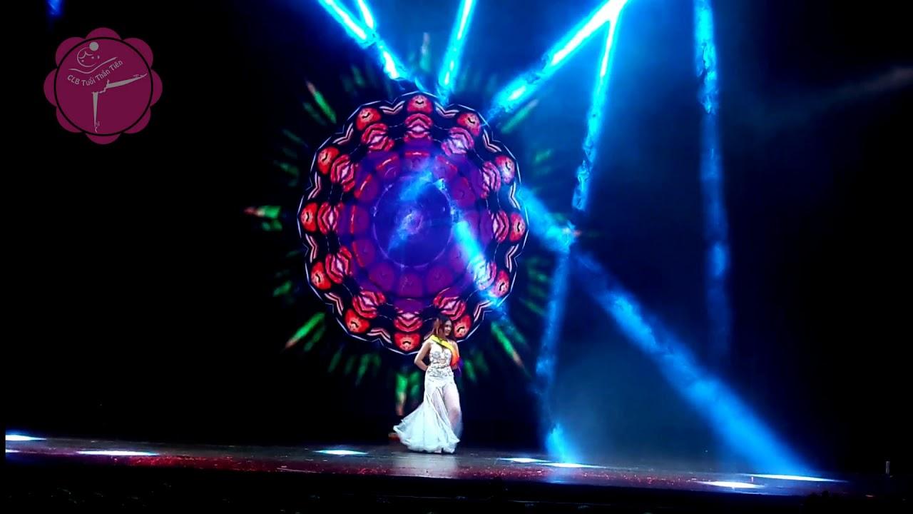 Buổi trải nghiệm trên sân khấu lớn cùng Bellydance CLB Tuổi Thần Tiên