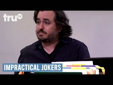 Impractical Jokers - Q Takes A Cat Nap for 30 Minutes