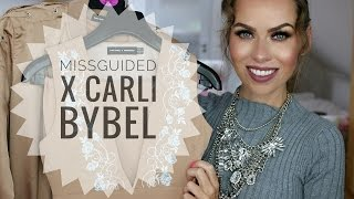 HAUL | MISSGUIDED X CARLI BYBEL | TRY - ON