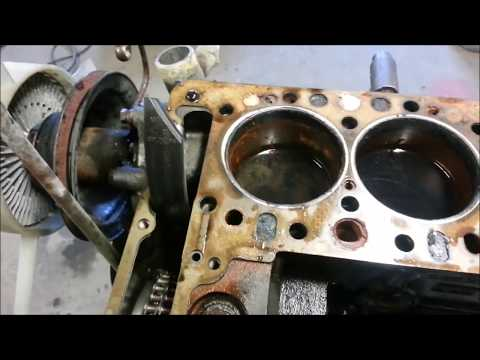 Unimog 411 OM636 to OM616 engine swap Part 1