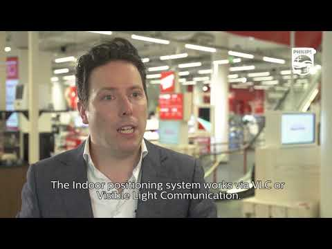 Philips Indoor positioning system at MediaMarkt