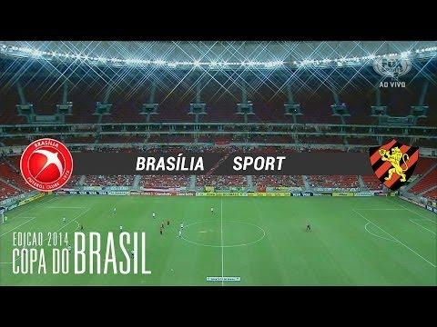 Gols - Brasília-DF 1 x 3 Sport-PE - Copa do Brasil 2014 - 01/05/2014