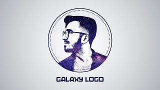 Photoshop Tutorial | Galaxy Logo Design From Face