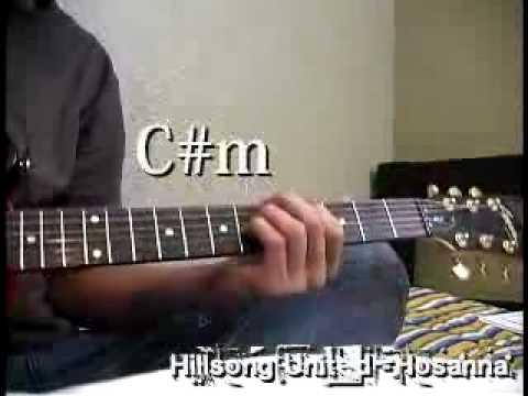 How To Play Hosanna Hillsong United Chords Guitar Youtube