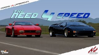 Assetto Corsa The Need For Speed Mod Test Drive at Highland
