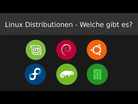 Linux Distributionen - Welche gibt es?   Welche Distribution ist für mich geeignet? (Deutsch)